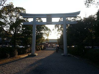 護国神社②