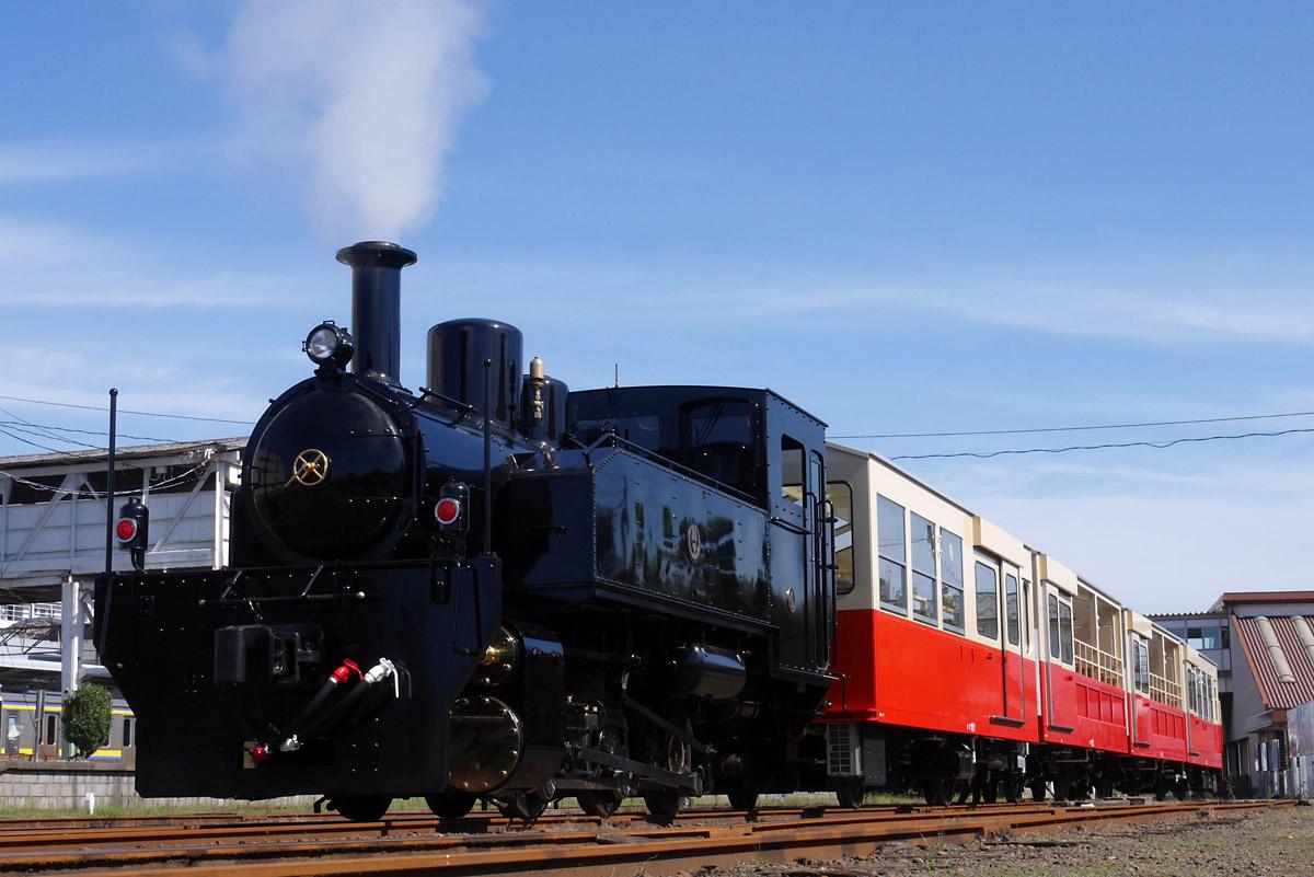 里山トロッコ列車 写真